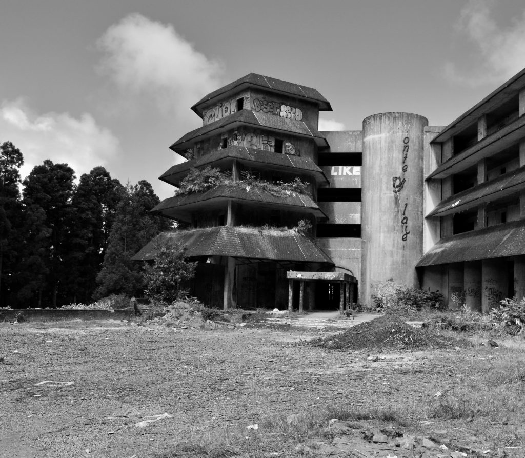 São Miguel Abandoned Monte Palace Hotel