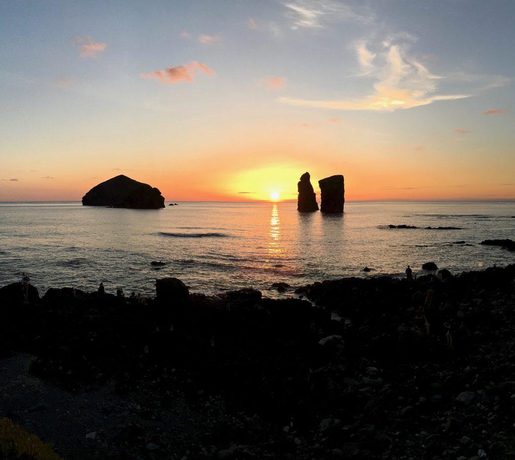São Miguel Mosteiros Sunset