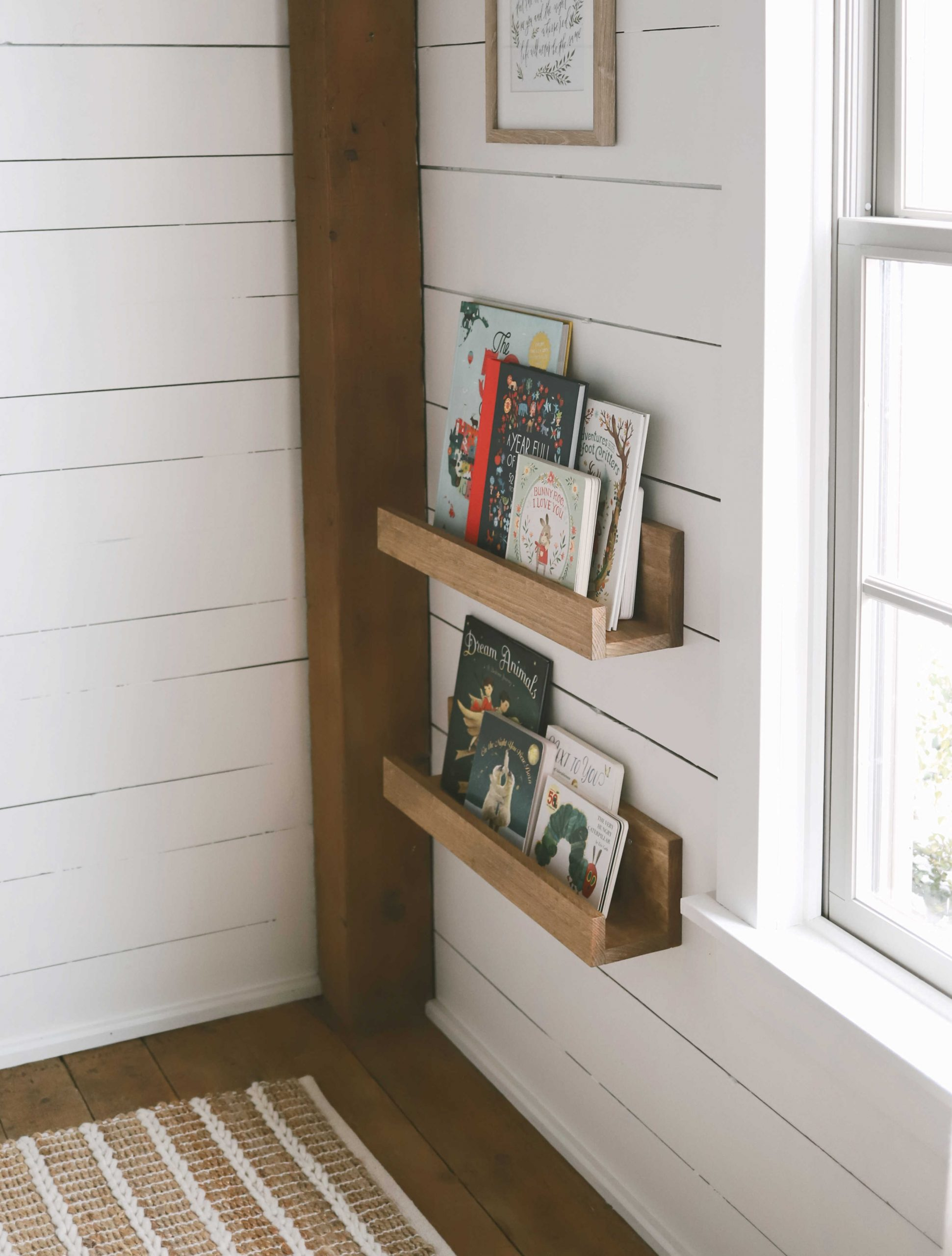 DIY Book Ledge