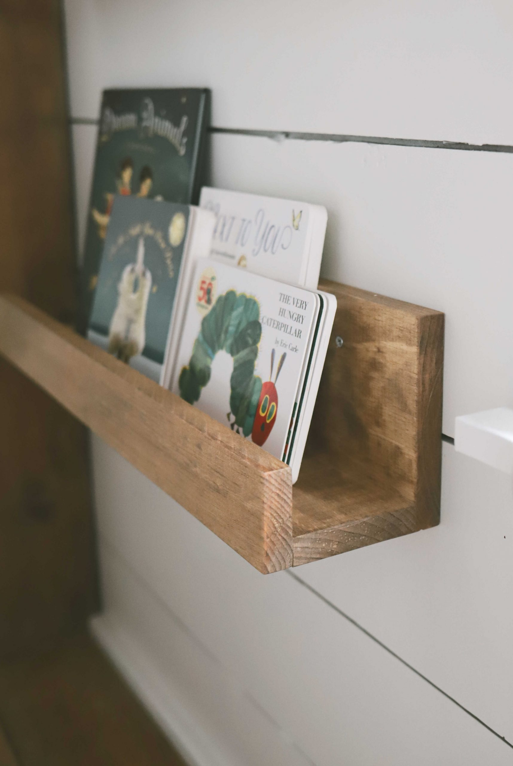 DIY Book Ledge - The Very Hungry Caterpillar