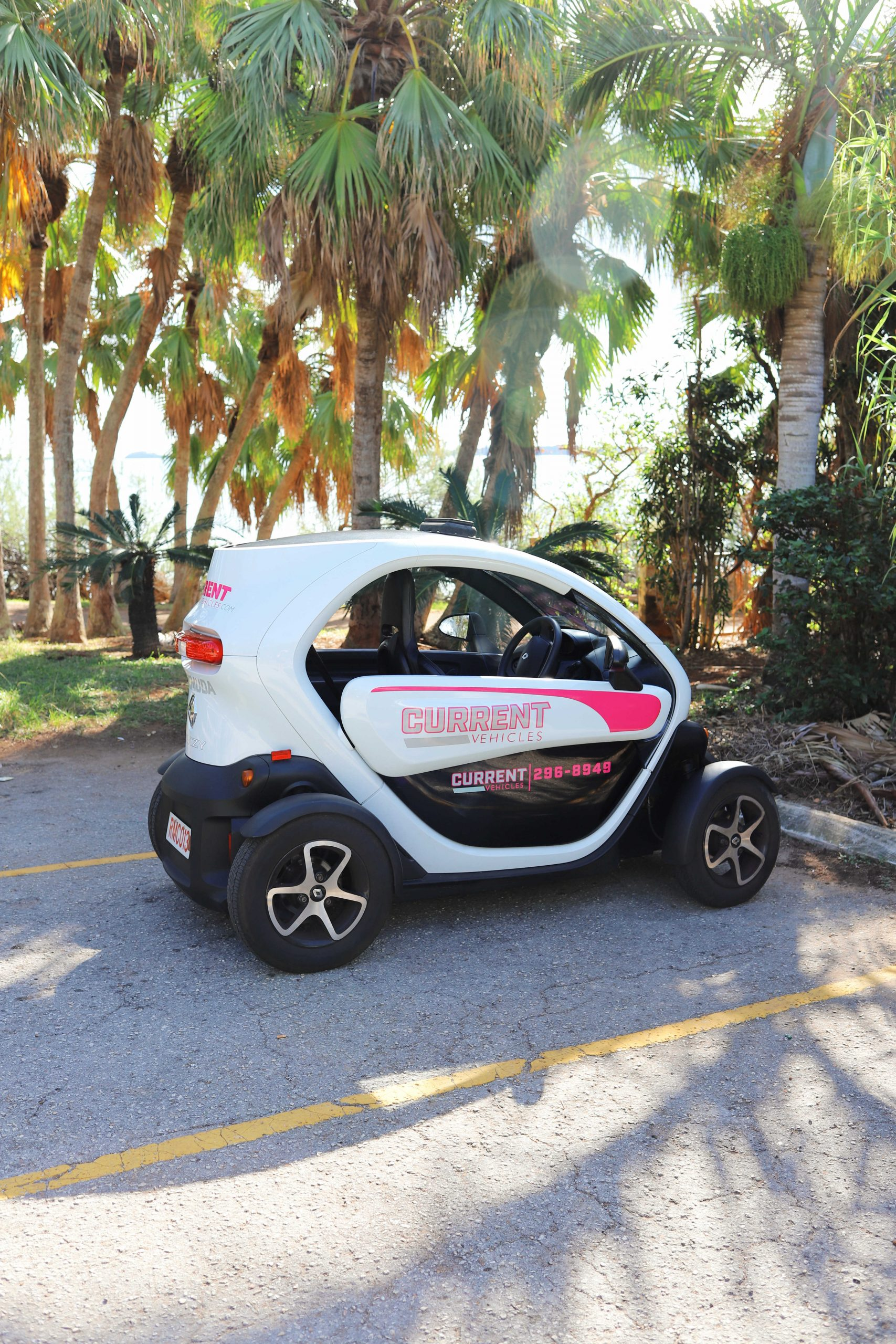 Renting a Twizy Car in Bermuda