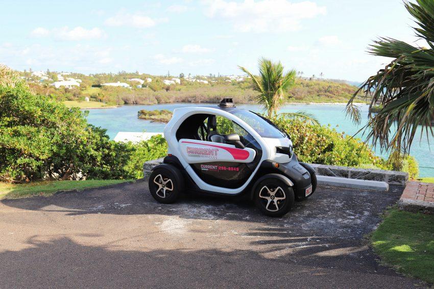 Renting a Twizy in Bermuda