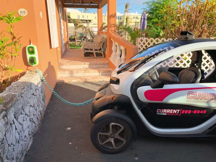 Twizy Charging Station at AirBnb