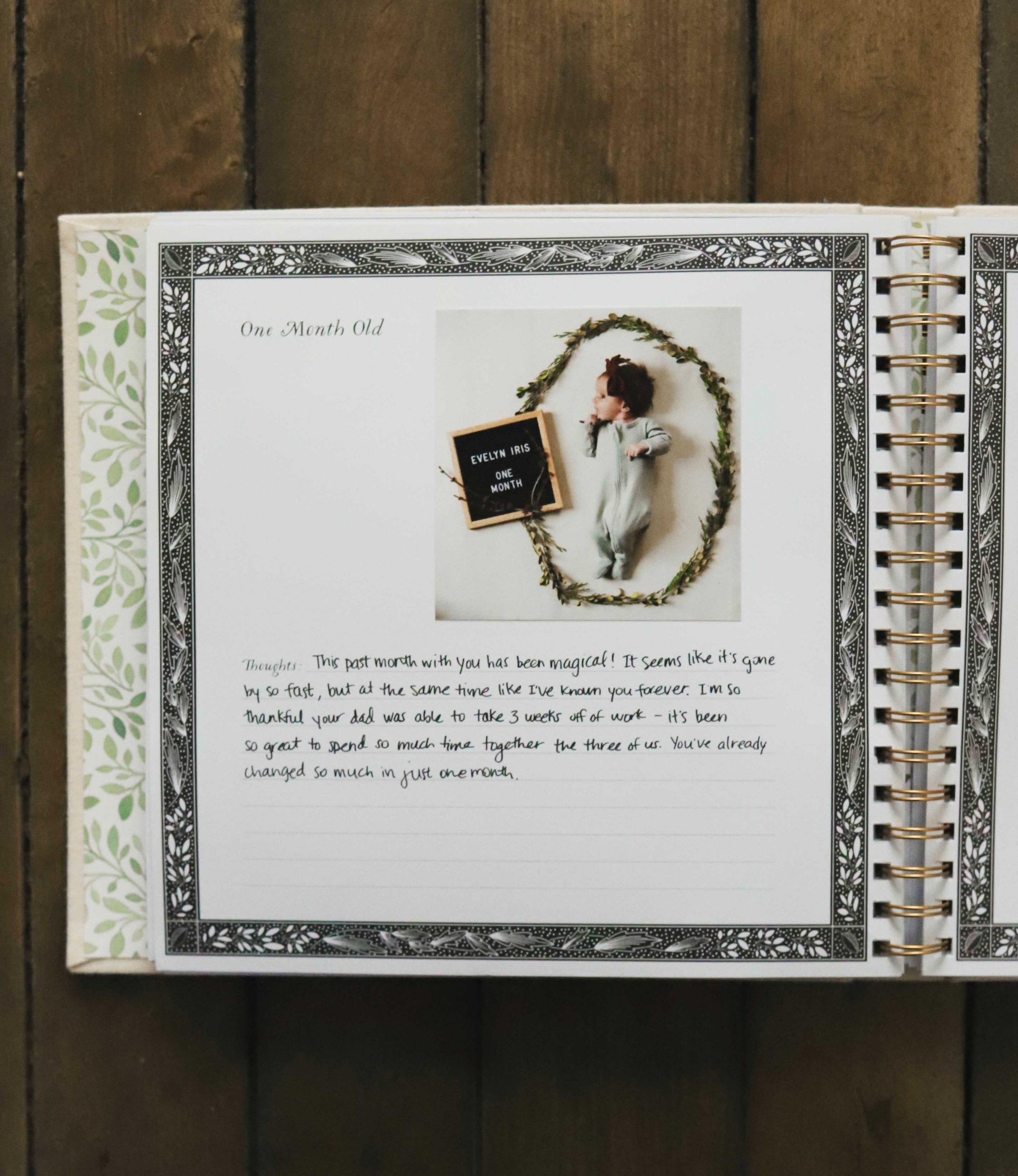 Newborn Essentials - As You Grow Baby Book